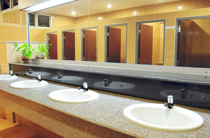 Janitorial Service Restroom Cleaning
